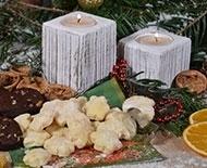 Křehké vánoční cukroví