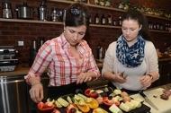 JIP Gastrostudio Praha účastnice kurzu vaření