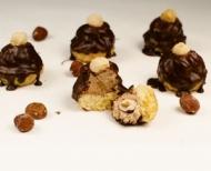 Košíčky s ořechovou náplní