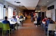 Restaurace Gastrostudio, otevřeno v době oběda 10:30 - 14:30