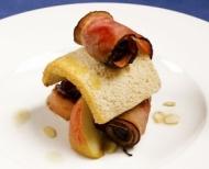 Valentýnské menu - recept na plněnou slaninu.