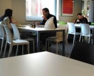 Hosté Gastrostudia JIP, doba oběda