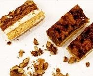 Ořechové řezy, recepty Gastrostudia JIP