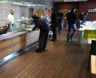 Jídelna Gastrostudia JIP v době oběda
